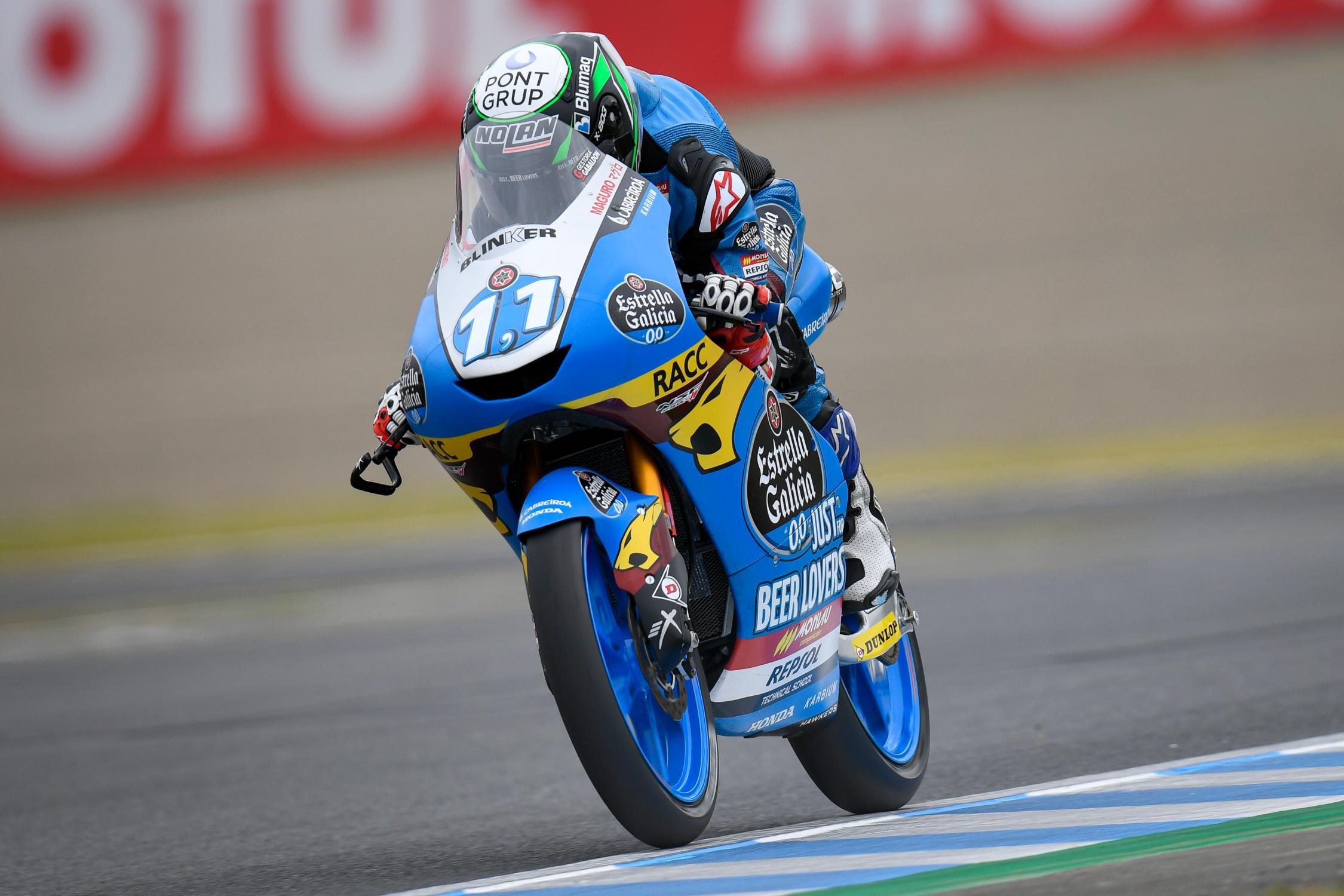 Niccolò Antonelli es segundo en la Q1