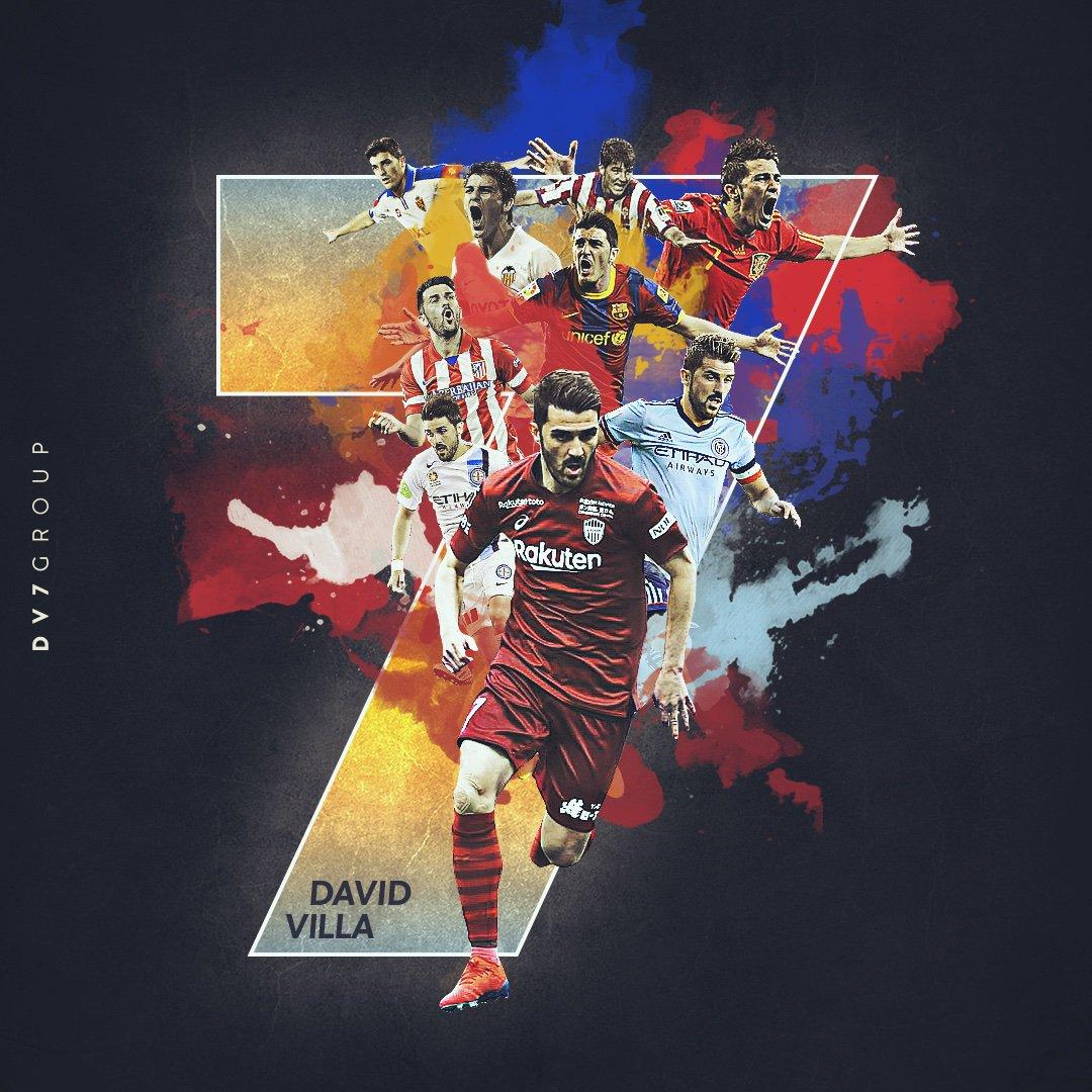 David Villa se retira del fútbol