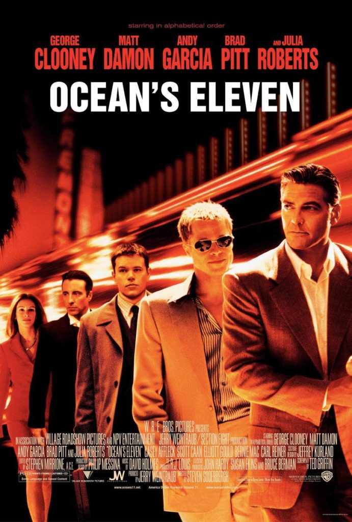 Ocean´s Eleven / Fuente: Filmaffinity