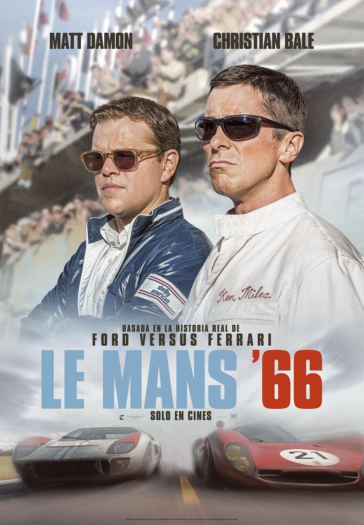 LE MANS 66 / Fuente: Walt Disney Company.