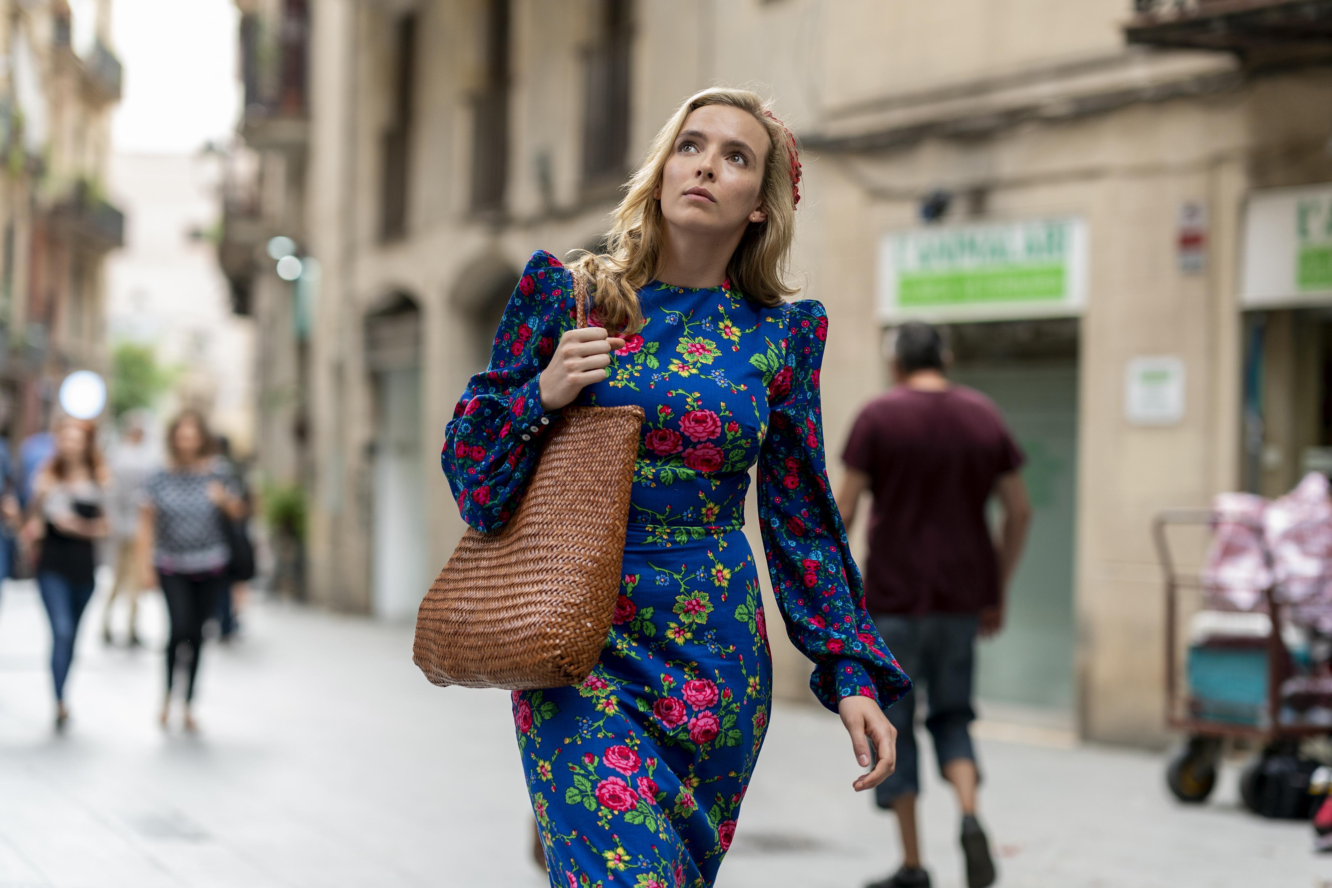 Jodie Comer es Villanelle en la terceratemporada de Killing Eve. Fuente: HBO