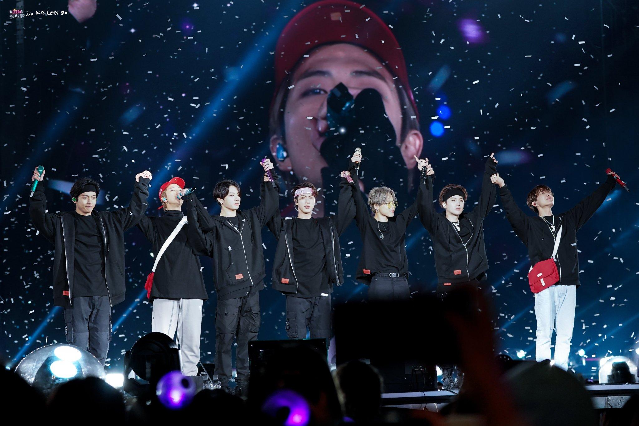 BTS en concierto/ Fuente: Twitter: @btspiics1