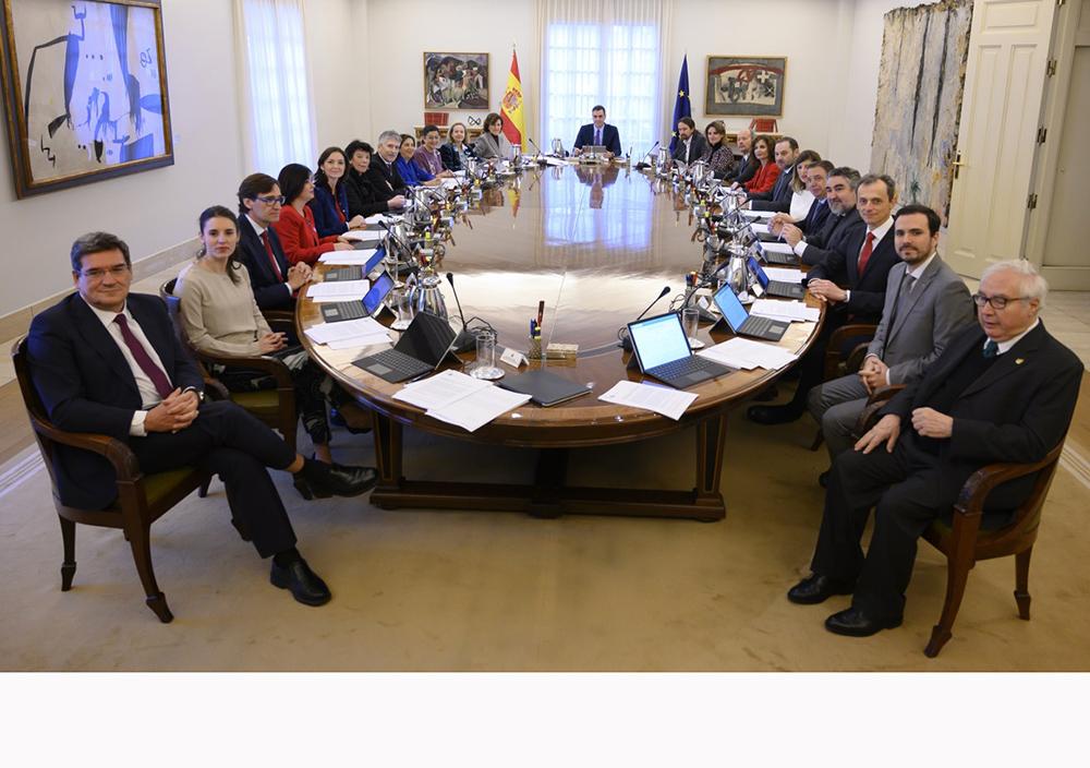 El Consejo de Ministros, reunido.