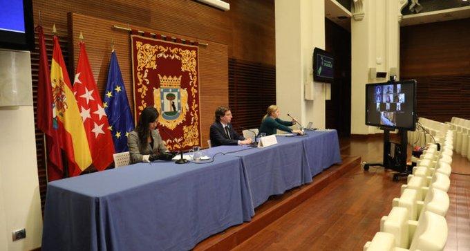 Alcalde y vicealcaldesa de Madrid