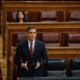 Pedro Sánchez durante el debate de la prórroga del estado de alarma este miércoles en el Congreso de los Diputados | TimeJust