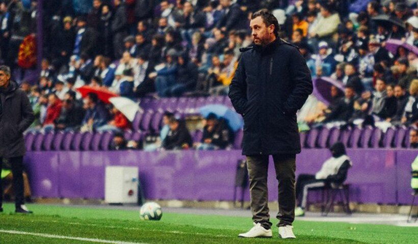 Sergio González durante un encuentro del Real Valladolid en Zorrilla | @RealValladolid
