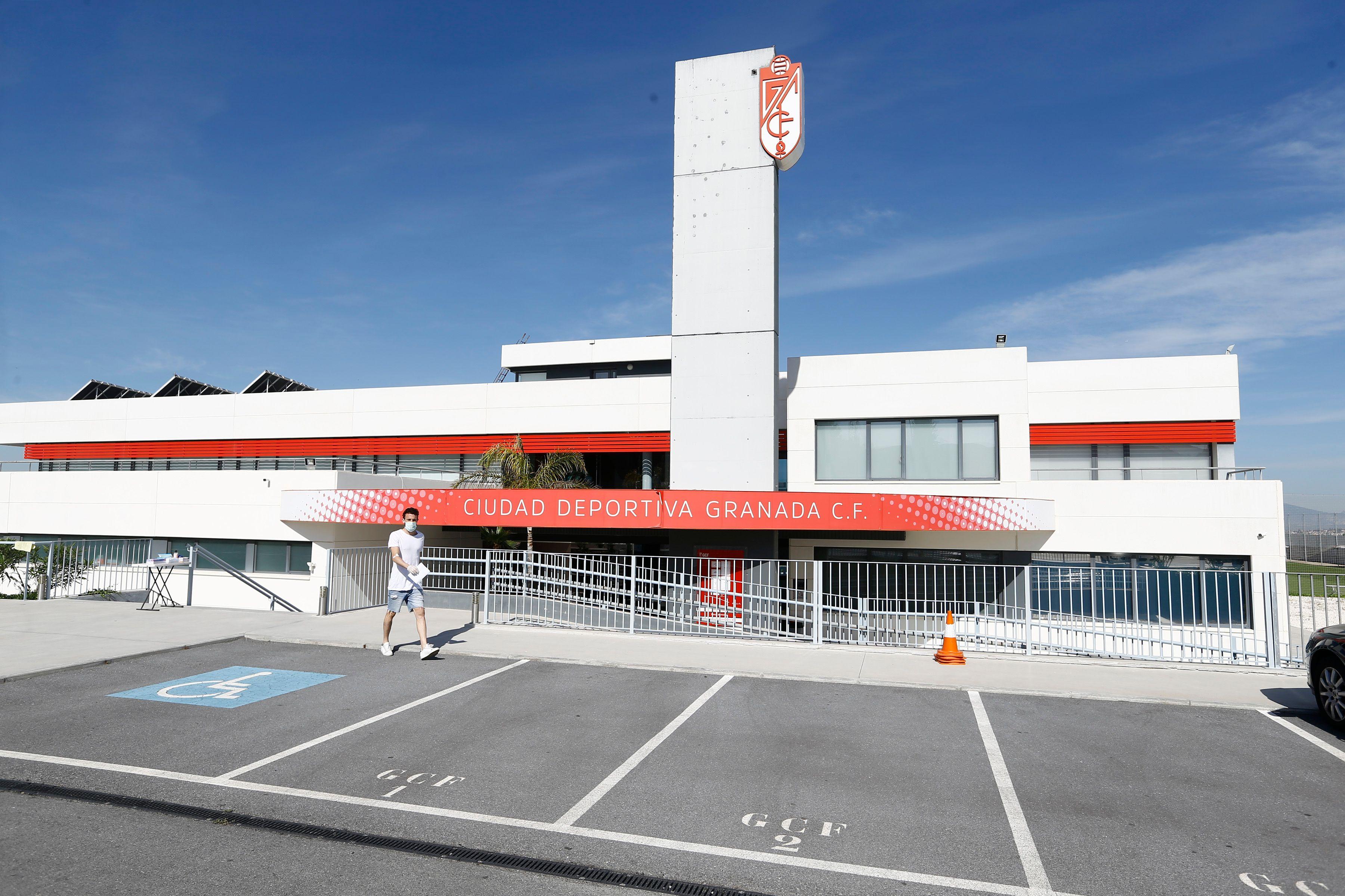 La ciudad deportiva del Granada CF lista para los entrenos