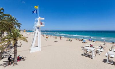 Playa del Postiguet (Alicante, España) | TimeJust
