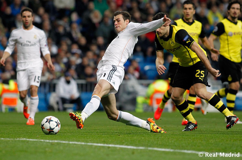 Gol de Bale frente al Dortmund
