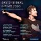 Primeras fechas confirmadas del Tour Íntimo 2020. // Fuente: @davidbisbal