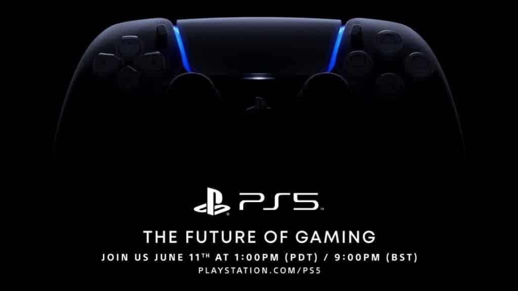 Poster oficial del evento de PlayStation 5 (Sony).