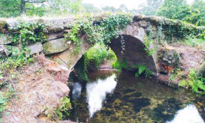 Puente de Taborda, muy deteriorado como consecuencia del mal tiempo y el abandono. // El Atlántico