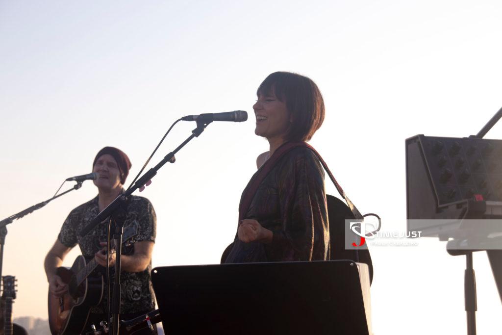 Amaral en el Festival TerraCeo de Vigo // Foto: Paula Cabaleiro