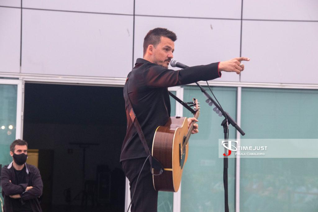 Coque Malla en el Festival TerraCeo de Vigo. // Foto: Paula Cabaleiro
