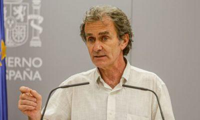 Fernando Simón durante su comparecencia en el Ministerio de Sanidad