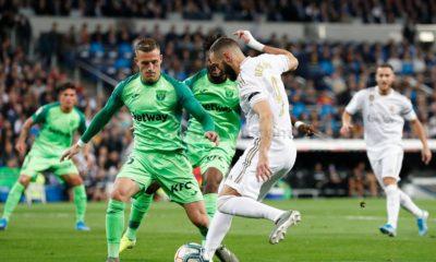 Partido de ida entre Real Madrid y Leganés