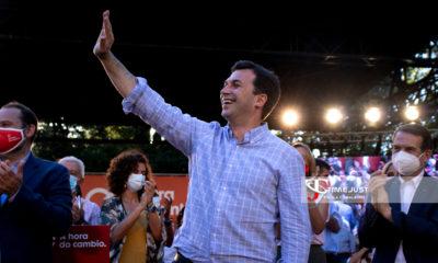 Cierre de Campaña elecciones Galicia 12 de Julio en Vigo. // Paula Cabaleiro