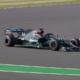 Lewis Hamilton rodando en el W11