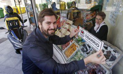 Tienda local con la etiqueta de DBarrio. // Oscar Vazquez para el Faro de Vigo