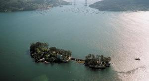 Illa de San Simón, uno de las localidades más famosas del festival Sinsal. // Festival Sinsal