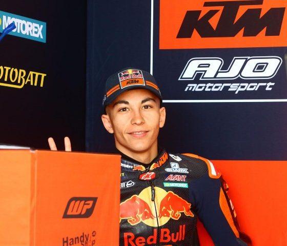 Raúl Fernández en el Gran Premio de Qatar