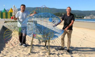 peixe traga-plástico