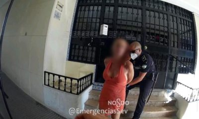 policía sevilla mujer expareja