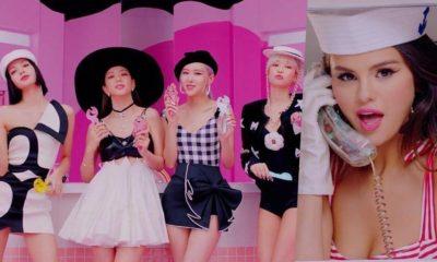 Selena Gomez y BLACKPINK presentan 'Ice Cream' / Montaje: Soompi