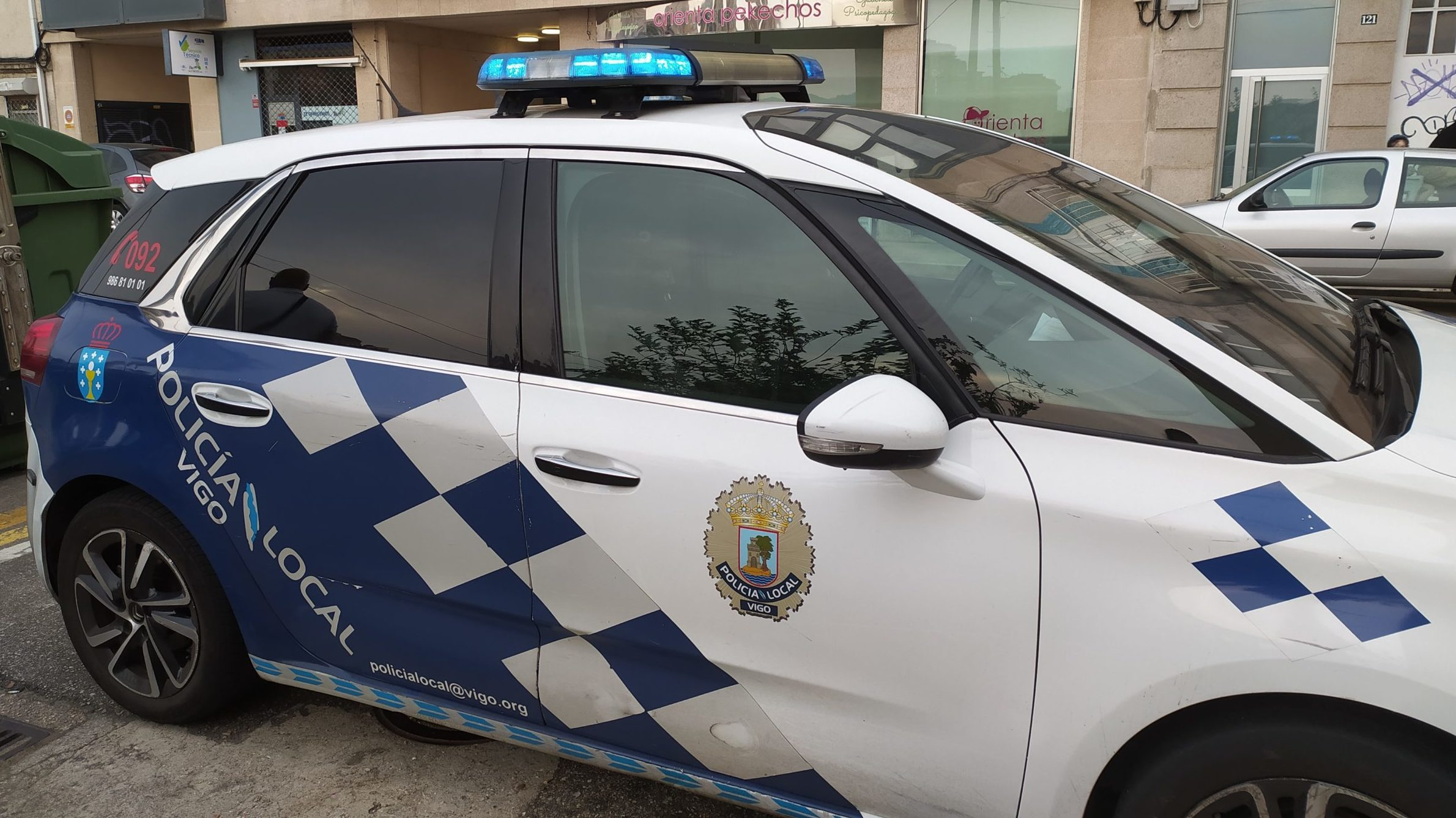 policía local vigo sanción