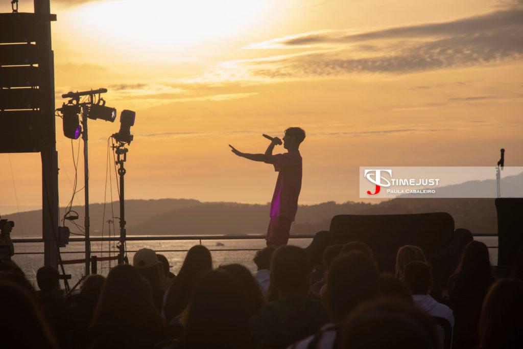 Don Patricio en el Festival TerraCeo. Paula Cabaleiro