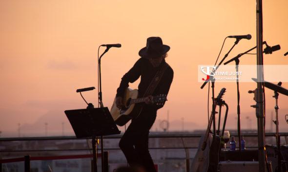 Mikel Erentxun en el Festival Terraceo // Paula Cabaleiro