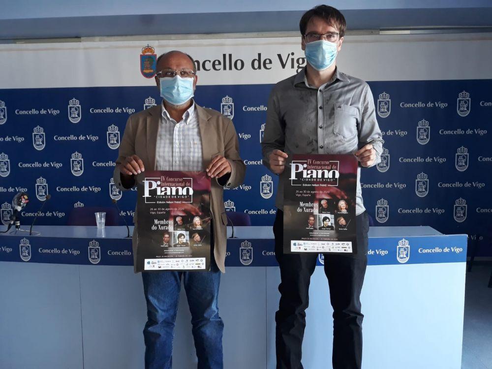 """IV Concurso Internacional de Piano """"Cidade de Vigo"""""""