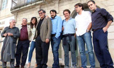 El equipo de «La playa de los ahogados» presenta su película en Vigo. La Voz de Galicia