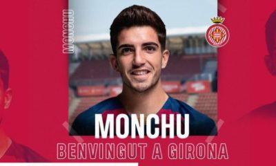 Monchu cedido al Girona