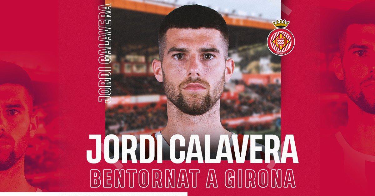 Jordi Calavera en propiedad al Girona