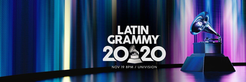 Imagen promocional de los Latin Grammy 2020. // Fuente: @LatinGRAMMYs