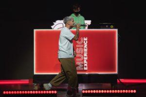 Robledo durante su actuación en el CCME. // Fuente: @CocaCola_es