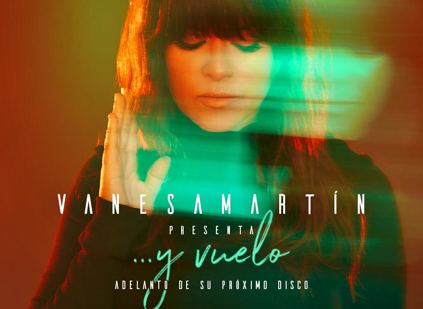 """Portada de """"...y vuelo"""", el nuevo single de Vanesa Martín. // Fuente: Warner"""