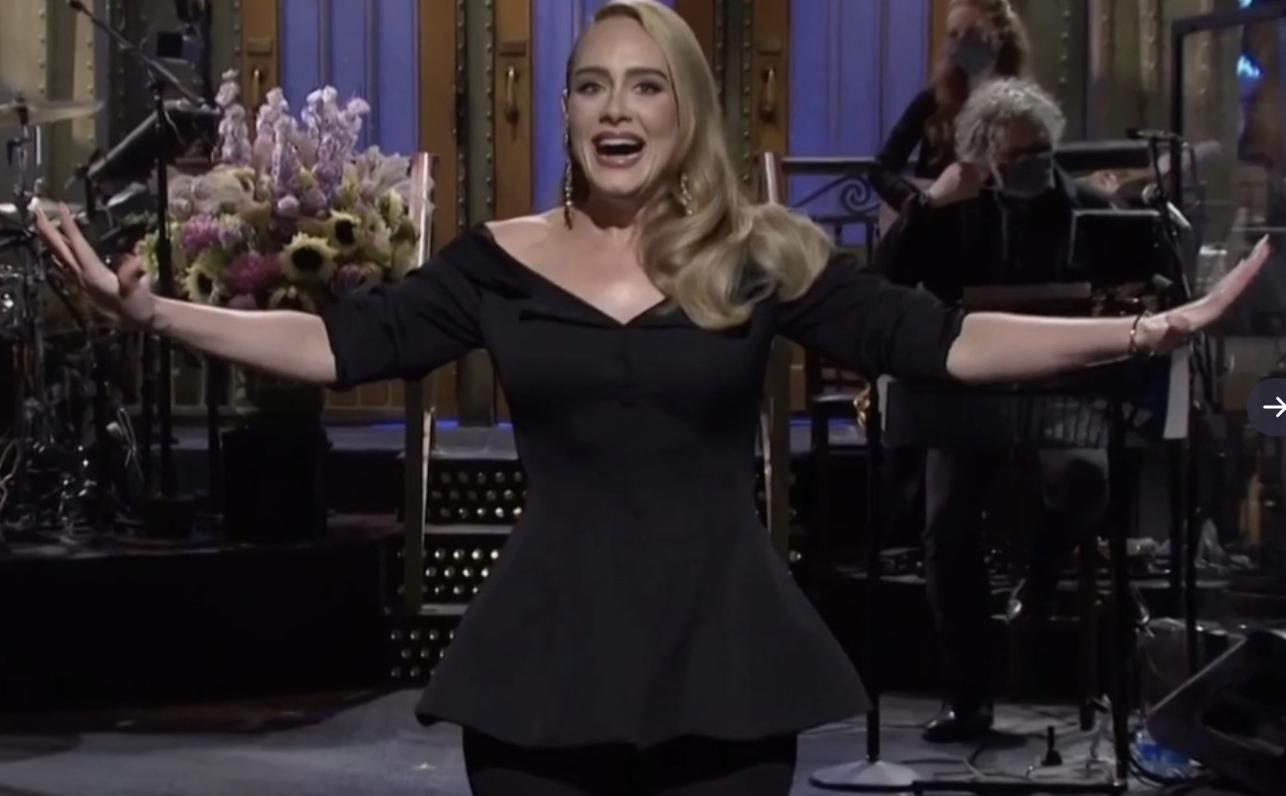 Adele en Saturday Night Late