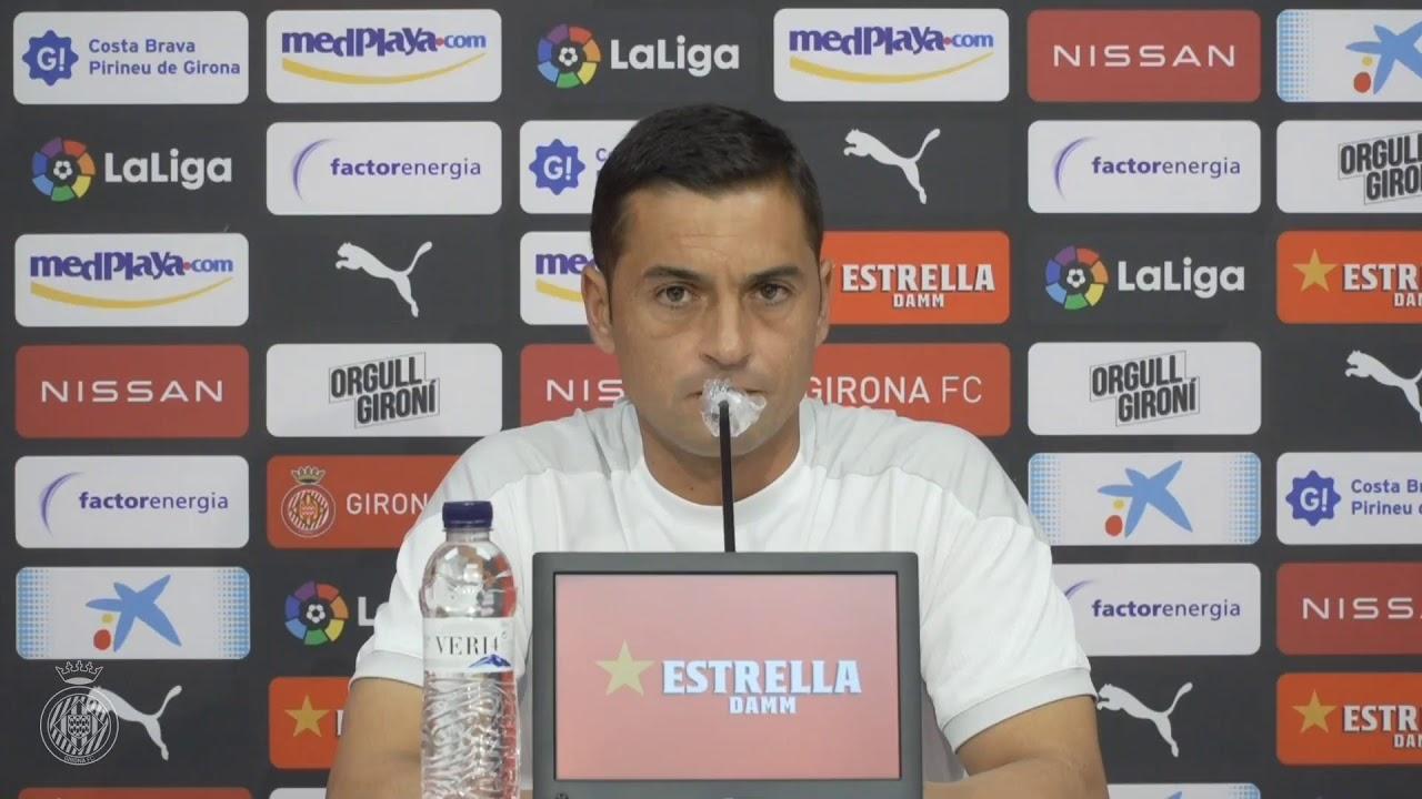 Francisco en rueda de prensa