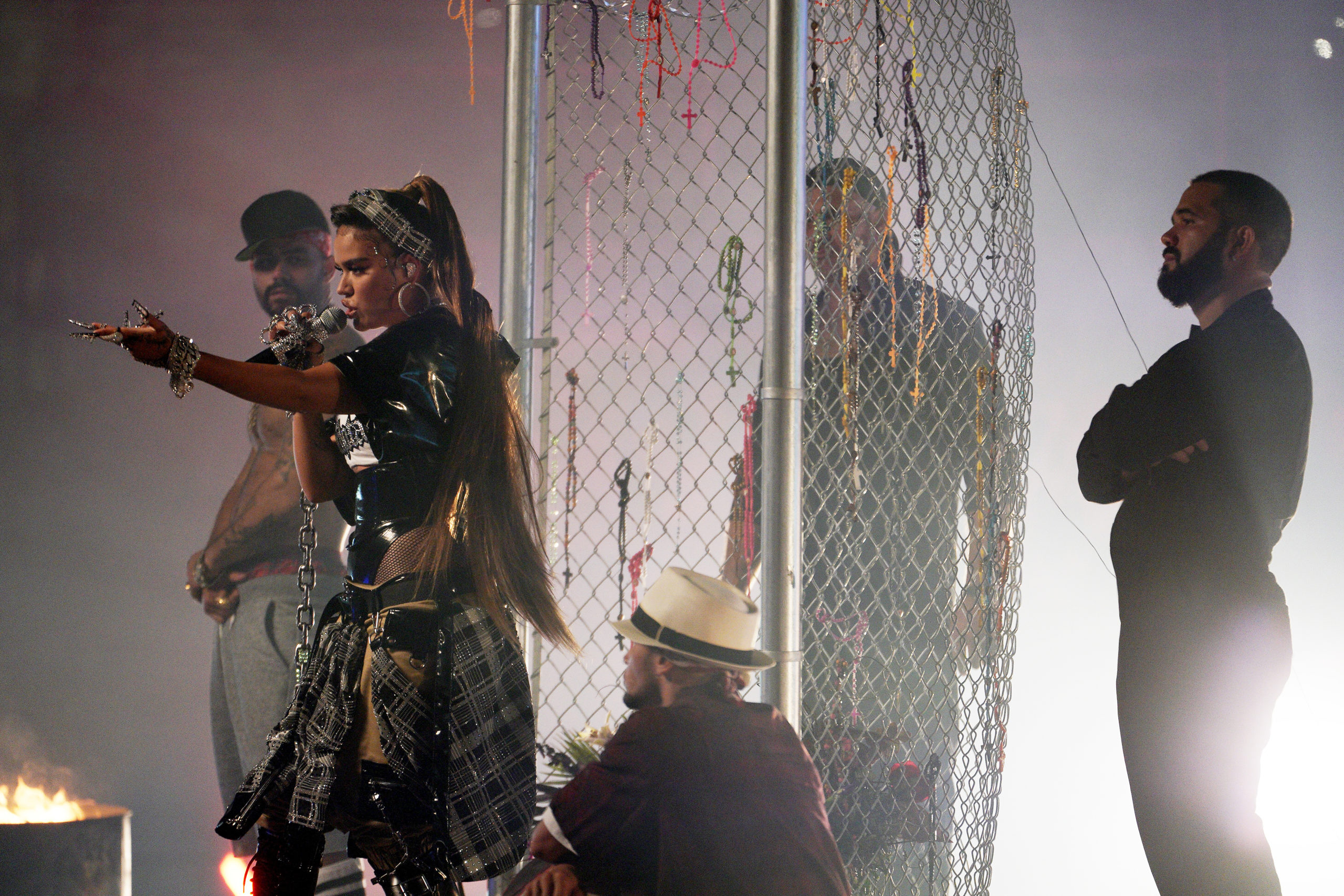 Karol G durante los MTV EMAs 2020. // Fuente: MTV EMAs - Rodrigo Varela