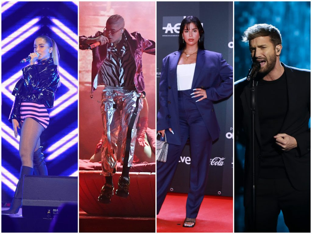 Actuaciones de los Latin Grammy