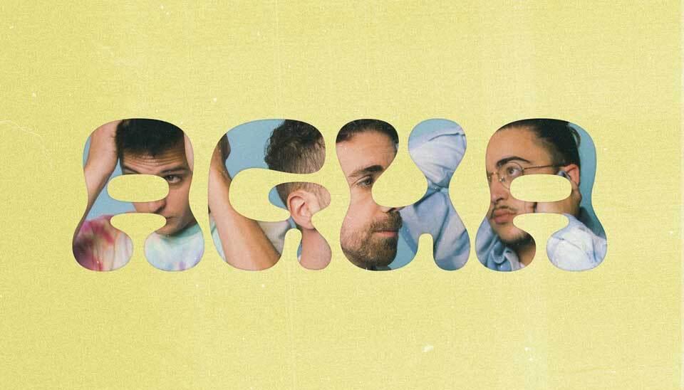"""Portada de """"Agua"""", el álbum debut de Stay Homas"""