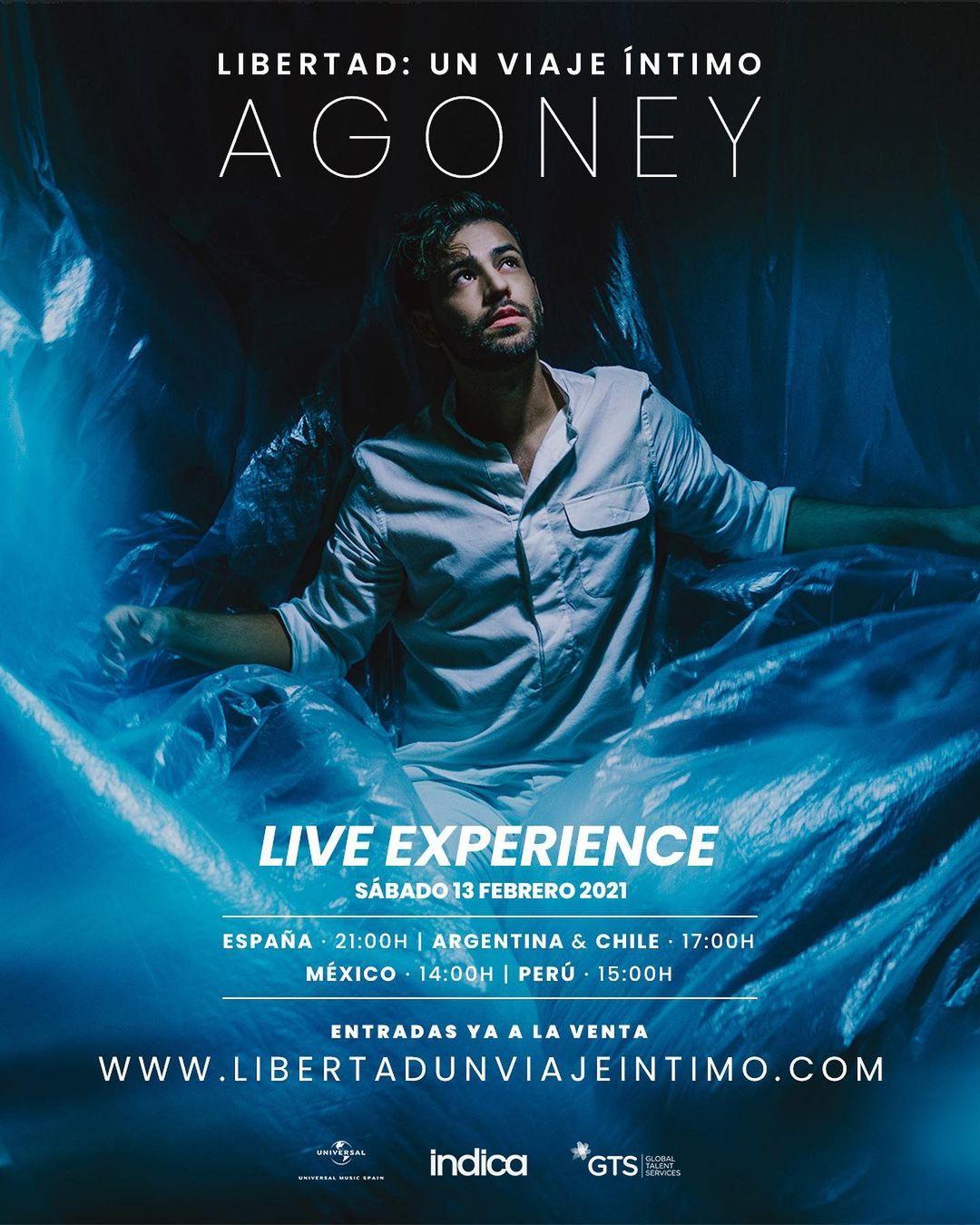 Agoney Libertad Live Experience