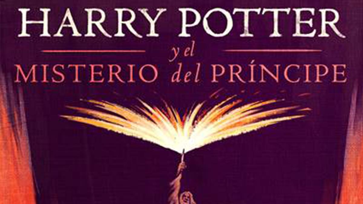 Portada del audiolibro de Harry Potter y el Misterio del Príncipe