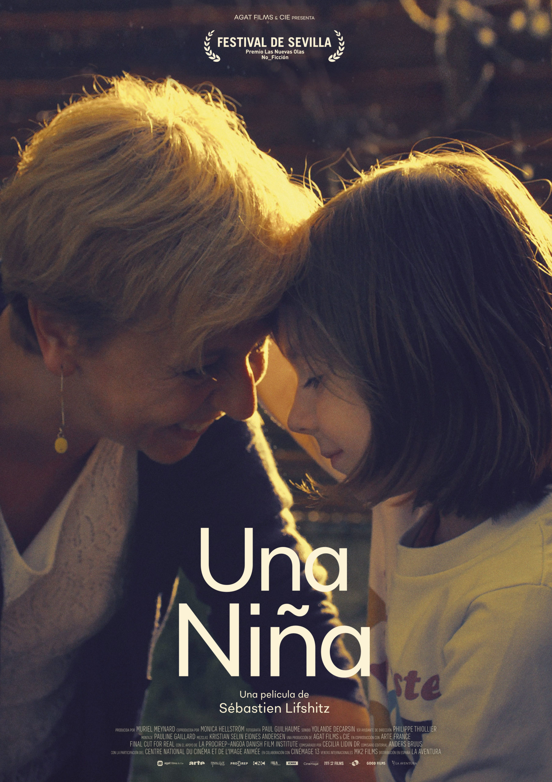 Cartel de 'Una niña'. Fuente: Good Films
