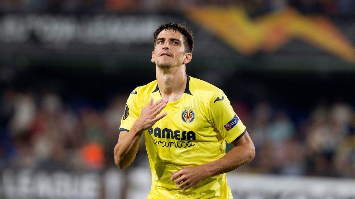 Gerard Moreno con la camiseta del Villarreal