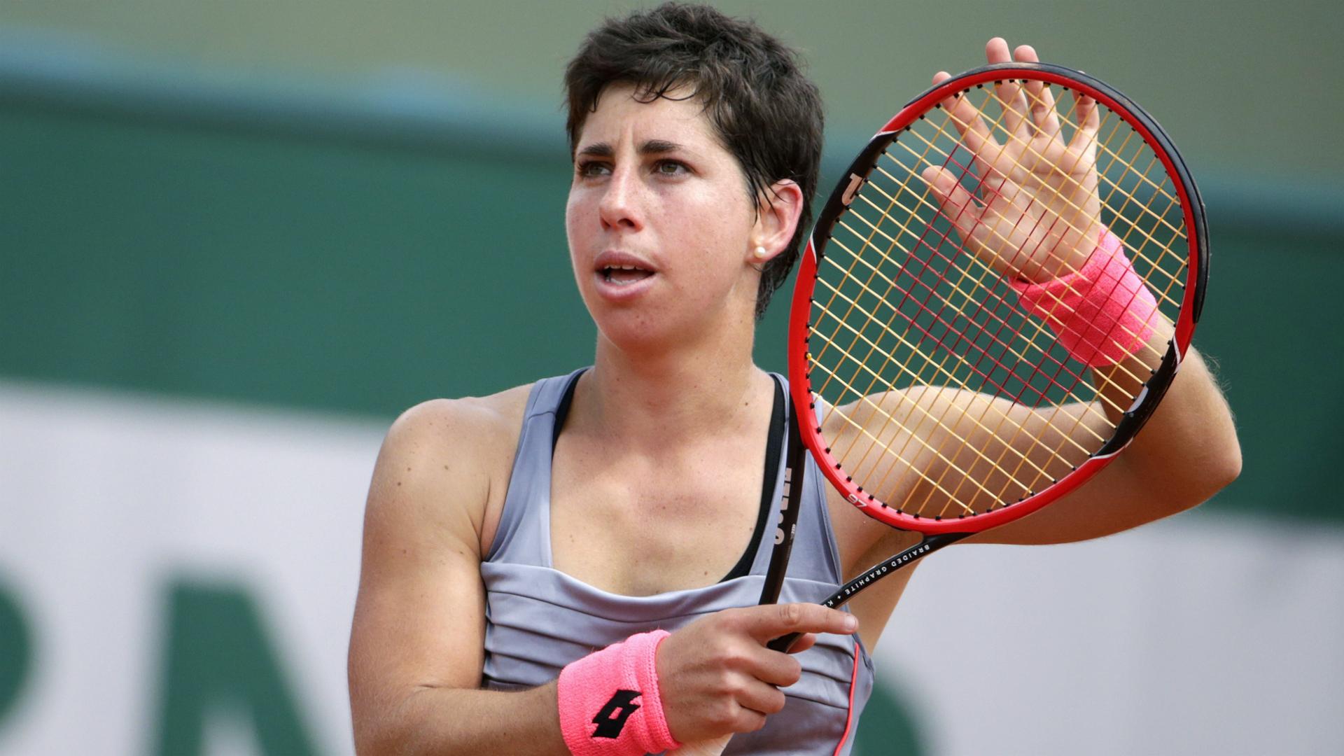 Carla Suárez.