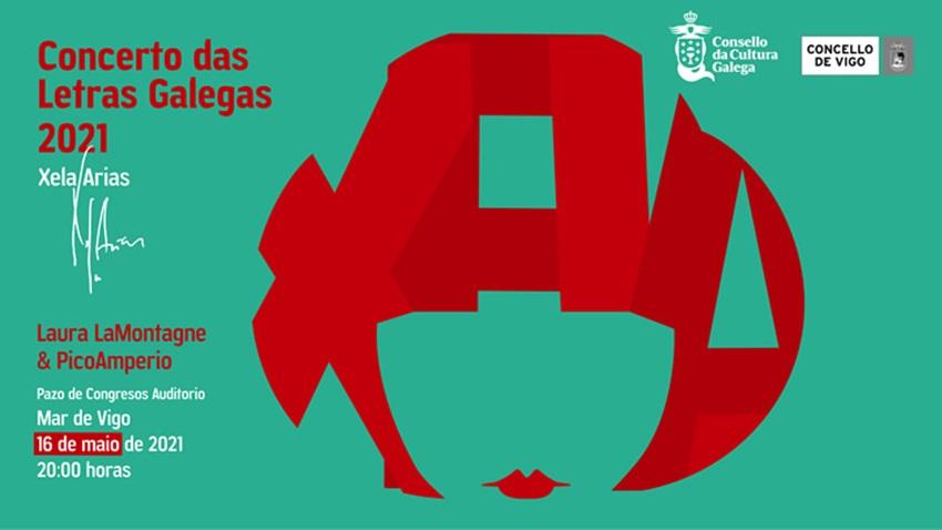 concierto días das letras galegas 2021 xela arias