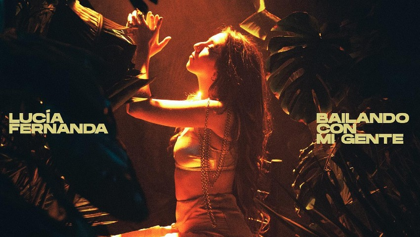 Lucía Fernanda estrena su nuevo single llamado 'Bailando con mi gente', un anticipo de su primer álbum.